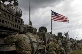 ورود کاروان تانکهای آمریکایی به سوریه با ادعای مبارزه با داعش + تصاویر و ویدئو