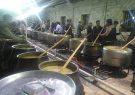 کرونا سد راه  آئین مذهبی پخت حلیم نذری گلشهر گلپایگان