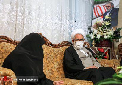 گزارش تصویری دیدار دادستان کل کشور با خانواده شهید فخری زاده