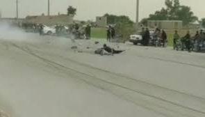 تصادف وحشتناک دو موتور سیکلت در بوشهر + فیلم