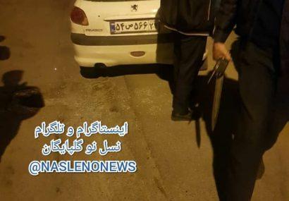 تیراندازی پلیس و دستگیری سارقان در گلپایگان