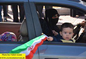گزارش تصویری راهپیمایی ۲۲ بهمن در گلپایگان