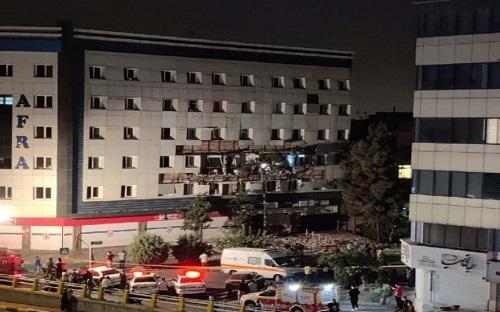 صدای انفجار شدید در غرب تهران